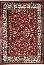Tapis orient style en polypropylène rouge 80x150