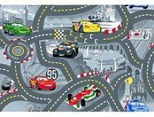 Tapis ou descente de lit world of cars gris 95 x