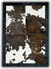 Tapis peau de taureau Normande Lorca Beige 180x240