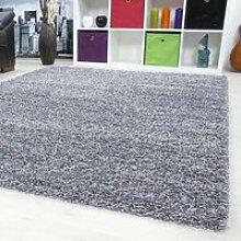 Tapis Shaggy - 160x230 cm - Gris