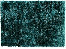 Tapis shaggy DOLCE - 120 x 170 cm - vert pinède