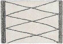 Tapis shaggy style berbère HANIA - Polyester -