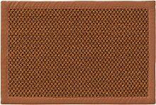 Tapis sisal marron clair 60x90