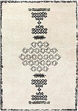 Tapis Sora en polypropylène aspect laine motifs