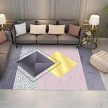 Tapis Table Basse Rose Decoration Chambre Fille