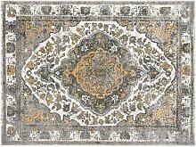 Tapis vintage oriental AGRA - 200 x 290 cm - Beige
