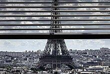Tapisserie déco poster BONJOUR PARIS 3 x 2,70 m |