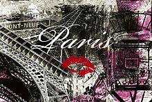 Tapisserie déco poster PARIS 3 x 2,70 m | Déco