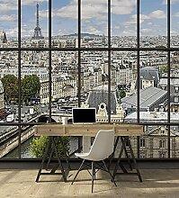 Tapisserie déco poster PARIS LA SEINE 3 x 2,70 m