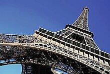Tapisserie déco poster TOUR EIFFEL PARIS 3 x 2,70