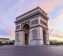Tapisserie poster panoramique PARIS ARC DE