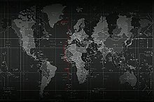 TARTINY Dessin au diamant,Carte du monde