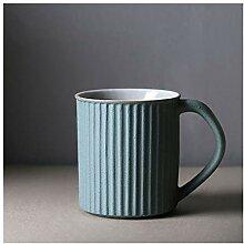 Tasse 10 oz Stripe Porcelaine Espresso Tasse en