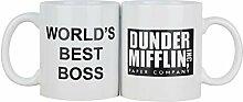 Tasse 350 ml/café Tasse de 11,8 oz Tasse en