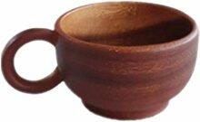 Tasse à bois Coupe de café de style japonais en