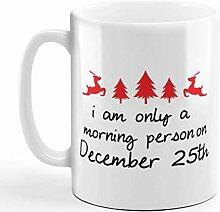 Tasse à café 11 onces je suis personne du matin