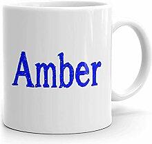 Tasse à café ambre – Tasse personnalisée pour
