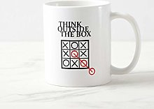 Tasse à café amusante, Think Outside The Box –