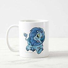 Tasse à café amusante Tonu Blue - Tasse à café