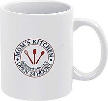 Tasse à café avec clip « Mom's Kitchen » -