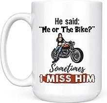 Tasse à café avec inscription « He Said Me Or
