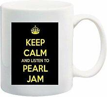 Tasse à café avec inscription « Keep Calm and