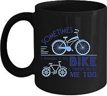 Tasse à café avec inscription « Sometimes I