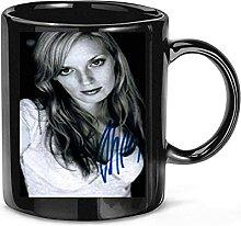 Tasse à café avec photo dédicacée de Sarah