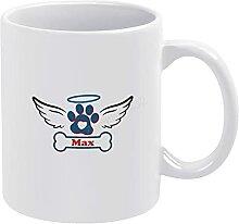 Tasse à café commémorative pour animal de