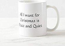 Tasse à café de 11 oz Tout ce que je veux pour