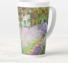 Tasse à café de 480 ml, Irises in Monet's