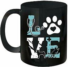 Tasse à café de nouveauté en céramique pour