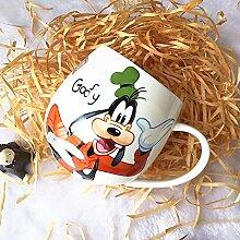 Tasse à café Disney Mickey Mouse Minnie 12,5 x