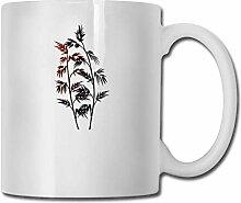Tasse à café drôle paix de bon augure bambou