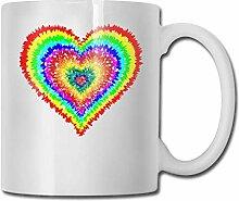 Tasse à café drôle signe de paix Clipart café