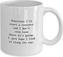 Tasse à café drôle Tasse à thé Le bureau
