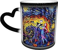 Tasse à café en céramique avec changement de