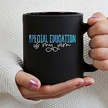 Tasse à café en céramique avec inscription «