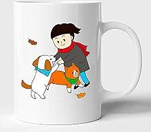 Tasse à café en céramique pour animaux de