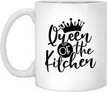 Tasse à café en céramique Queen of the Kitchen