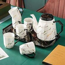 Tasse à café et thé en céramique, style