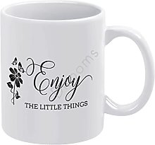 Tasse à café fantaisie en céramique avec