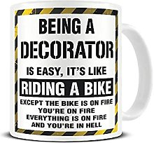 Tasse à café humoristique en céramique « Being
