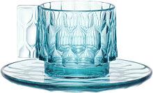 Tasse à café JELLIES FAMILY de Kartell, Bleu ciel
