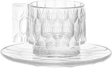Tasse à café JELLIES FAMILY de Kartell, Cristal
