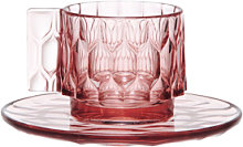 Tasse à café JELLIES FAMILY de Kartell, Rose