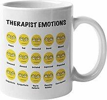 Tasse à café ou à thé avec émotions