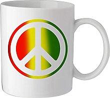 Tasse à café ou à thé en céramique avec