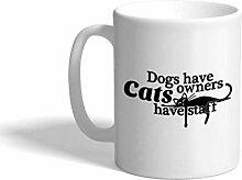 Tasse à café personnalisée 11 onces chiens ont