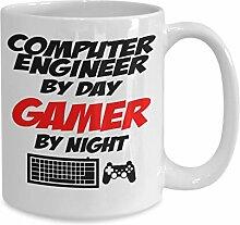 Tasse à café pour ingénieur informatique -